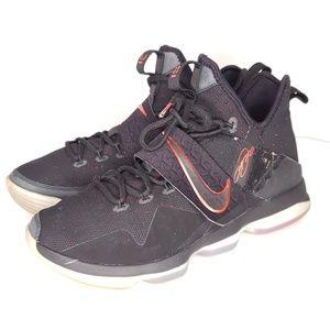 Nike Lebron 14 XIV Bred University Sneakers 9.5
